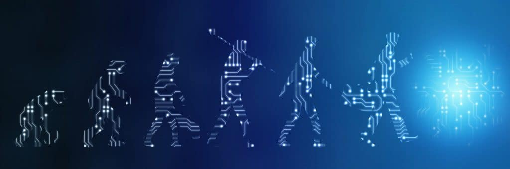 evolution of the digital human