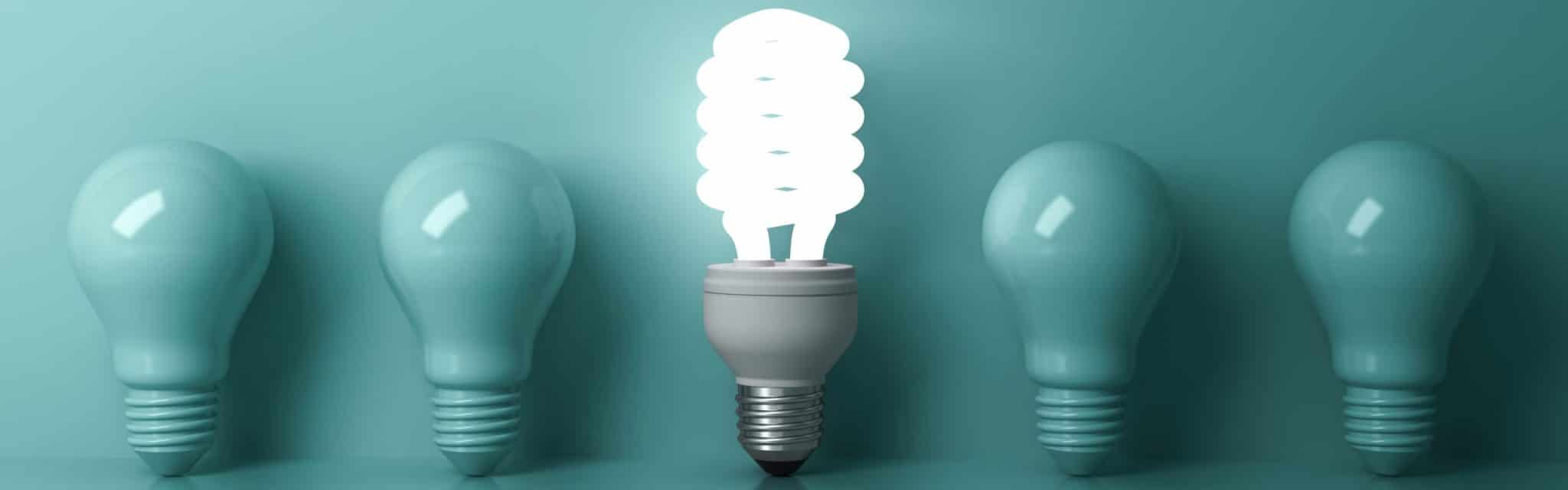The lightbulb illustrates how HR chatbot consultants can bring bright ideas to your project